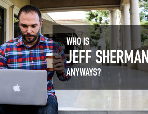 Who is Jeff Sherman Anyways?!